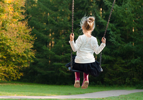 postimage ParentAdvocateInformsFamiliesAboutSafeOutdoorPlaySpaces littlegirlinswing - Parent Advocate Informs Families About Safe Outdoor Play Spaces